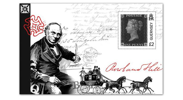 COLLECTORZPEDIA 175th Anniversary of the Penny Black