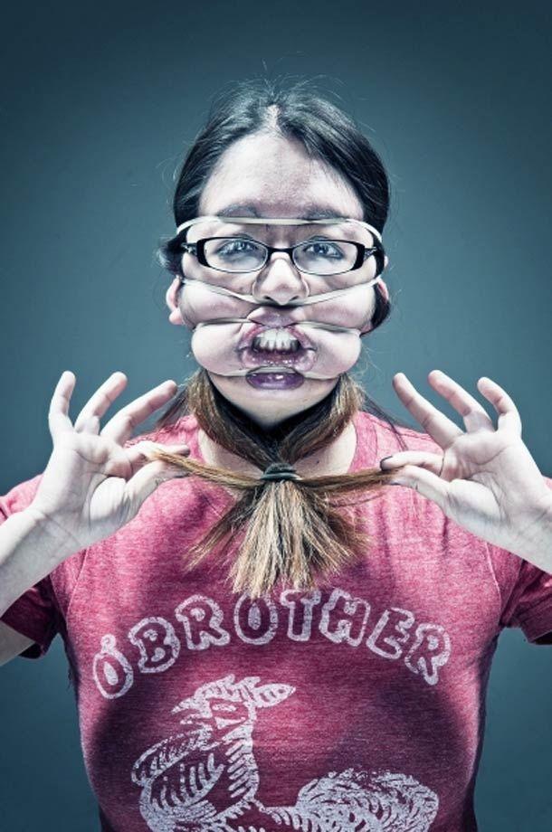 Rubber Band Portraits – Wes Naman