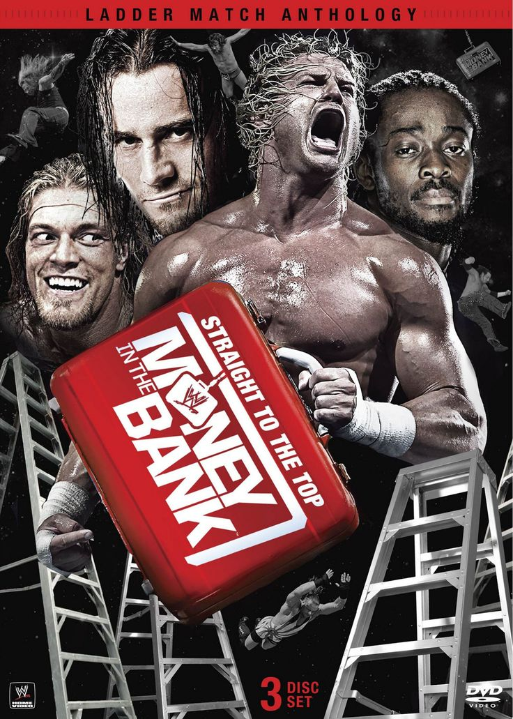 This set compiles some of the most famous Money in the Bank ladder matches in…...