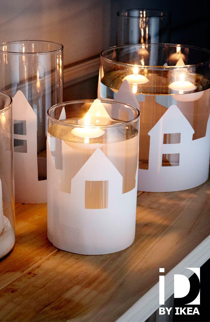 Geef je huis een magische kerstsfeer met onze DIY-ideëen. #IKEABE #IkeaIdee