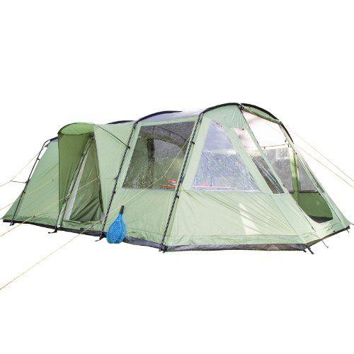 Das Nordland ist ein geräumiges 6 Personen Zelt mit einer komfortablen lichten Höhe von 205 cm gewährt optimale Bewegungsfreiheit. Der großzügige Wohnbereich bietet ausreichenden Platz für das gesamte Camping Inventar und eine gemütliche Rückzugsmöglichkeit an kühleren Tagen.Kein Wassereintritt durch Regen möglich, da die Bodenwanne und das Außenzelt fest miteinander vernäht und versiegelt sind.Das Nordland gewährleistet mit seiner überdurchschnittlich starken Wassersäule von 5.000 mm…