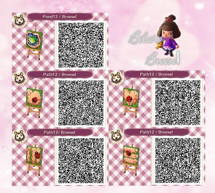 Sommerweg - Sommer - Marienkäfer - Ladybird - Path - Weg - qr - ACNL - Broesel - Animal Crossing New Leaf