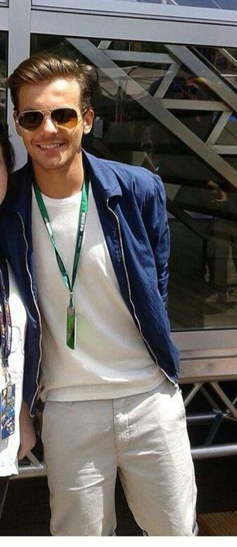 Louis in Monaco yesterday