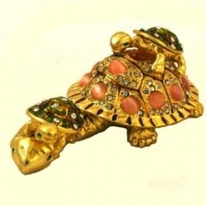 Yavrulu Kaplumbağa Biblo