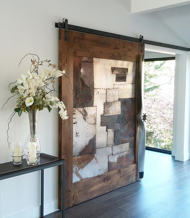 44 best make a statement antique doors images on for Metal barn doors