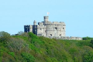 Cornwall - Where You Can Take a Castle Break Between Dodging Breakers: Pendennis Castle - Where You Can Be King