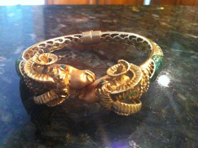 Ram-Heads-Bracelet Zolotas