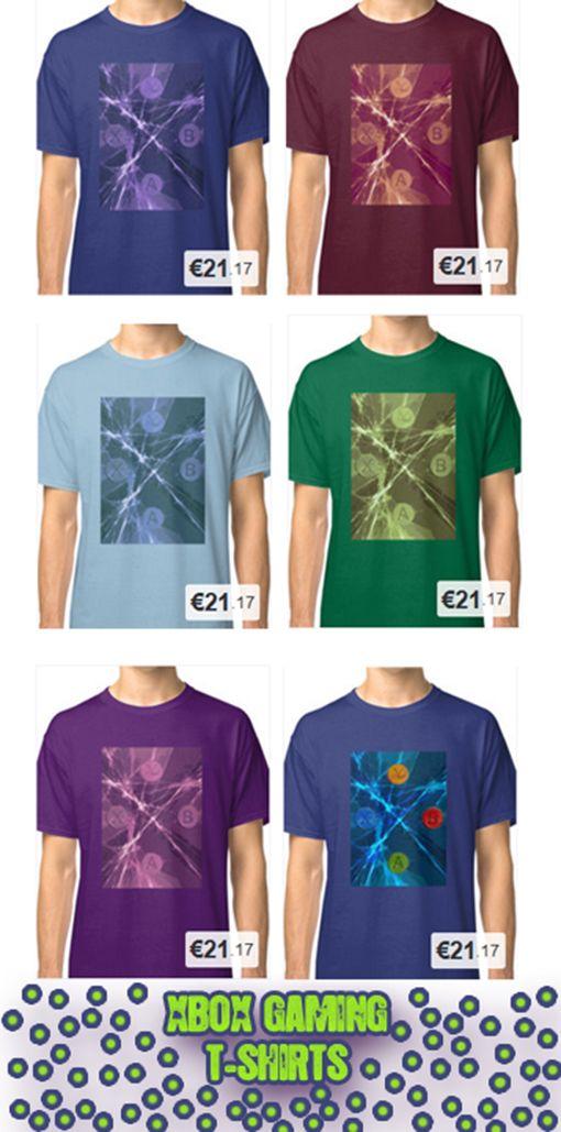 XBox Gaming T-Shirts by Emily Pigou #tshirts  #fashion #giftsforhim #buytshirts #buygamingtshirt #gamingtshirt #cooltshirts #redbubble #gamertshirt #gamer #gaming #xbox #ps3 #geek #nerd #geekgifts #nerdgifts #giftsforgamers