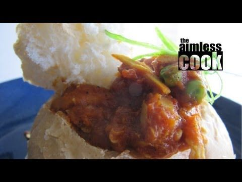 South African Street Food (Bunny Chow): The Aimless Cook