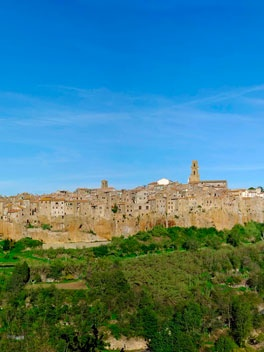One of the many villages in #maremma #tuscany #borghi #villages