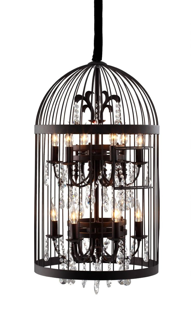 Birdcage Chandelier... Omgoodness, I love this idea. So many different approaches!!