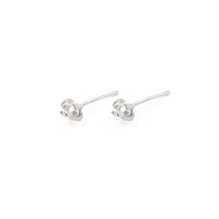 Herkimer Studs - Sterling Silver / Free Series