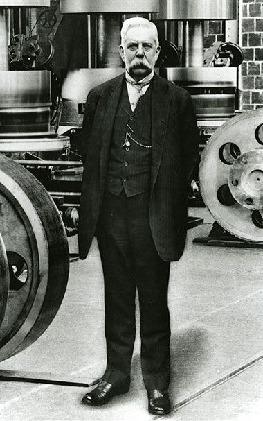 History of George Westinghouse | Westinghouse Nuclear