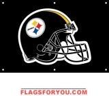 Steelers Fan Banner 2ft x 3ft