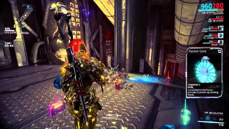 Warframe Update 13 Everythng Gold!