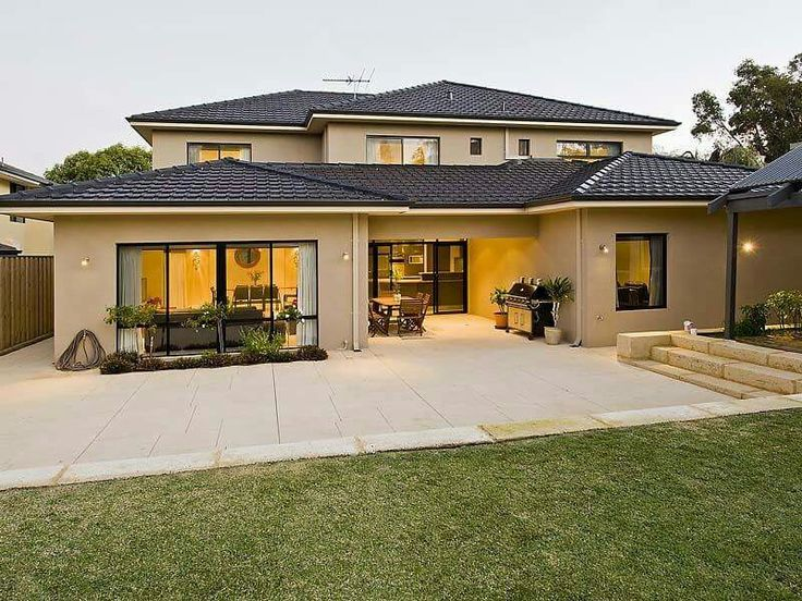 Maison moderne   Maison moderne, Crepi maison, Modèle maison