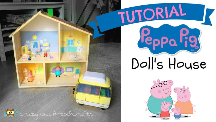 Tutorial DIY - IKEA hackers. Transform FLISAT wood doll house in PEPPA PIG's playhouse https://youtu.be/i1Ydxwv7UjE