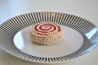virka liten kaka: Rulltårta!