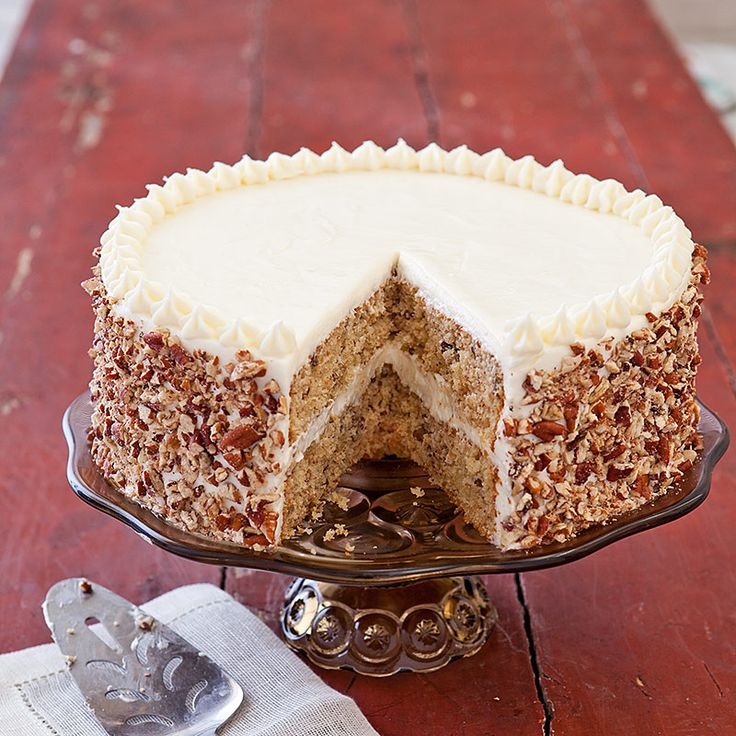 Cooks Country Italian Cream Cake Chockablock Full Of Nuts And Coconut This Gorgeous Southern Layer Cake Isn T As Well Known As It Deserves To Be