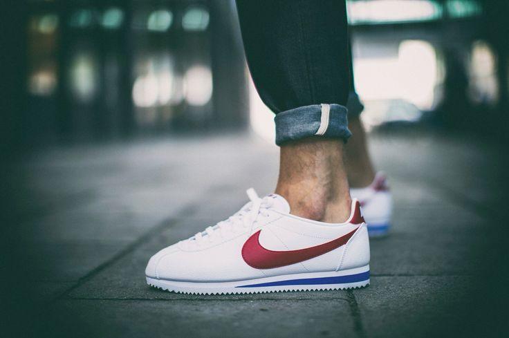 "Nike Classic Cortez Leather ""Forrest Gump"" (749571-154) #WS2 #cortez #nike"