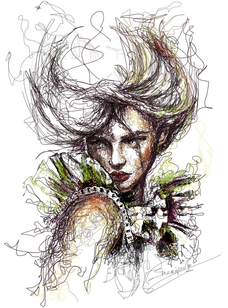 #fashion illustrations #fashion #moda #elina #sheripova #art #illustrations #lines