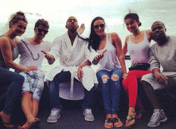 Kevin Hart & Girlfriend Eniko Joins Ludacris & Eudoxie In Thailand! [Photos] ~ Gossipwelove