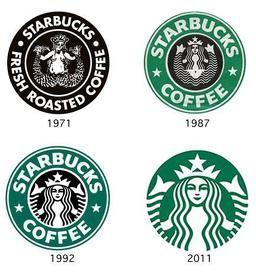 starbucks storia del logo - Cerca con Google