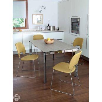 Universe-130 METALLO - Modern metal table