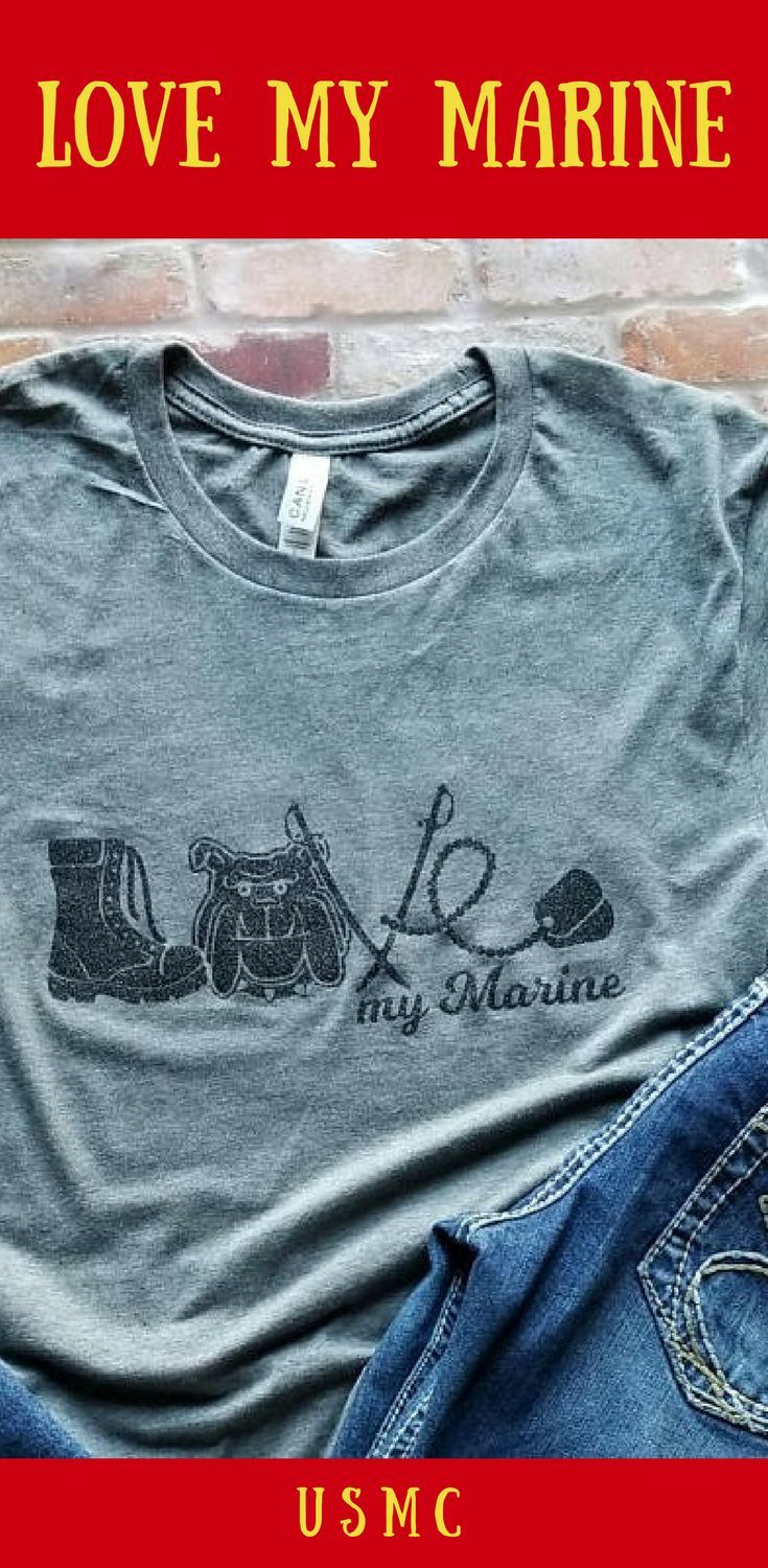 633e72f5 Perfect for the Proud Mom, Wife, Fiance, Girlfriend #Military #USMC  #Bootcamp #Family Day #Graduation Shirt #ad #valentinesday
