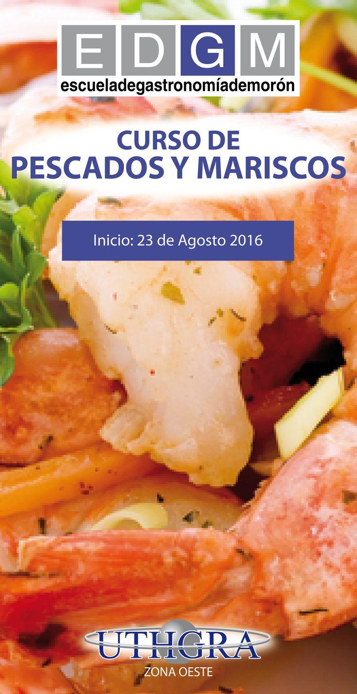 CURSO DE PESCADOS Y MARISCOS www.escuelauthgramoron.com.ar #Pescados #Mariscos #Gastronomía #EDGM #CursosCortosdeGastronomía