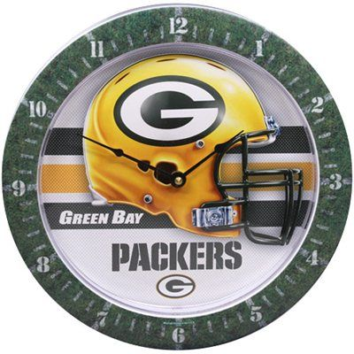 Green Bay Packers Game Time Wall Clock