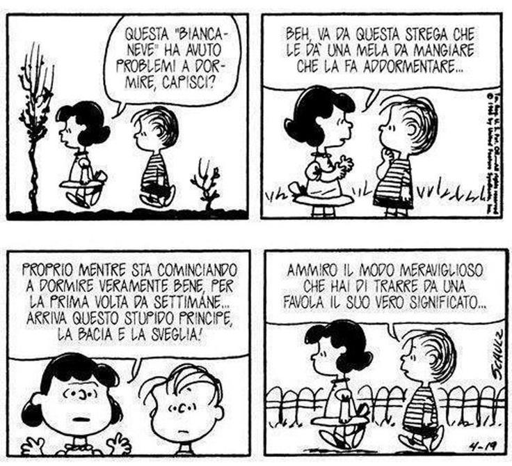 Biancaneve secondo Lucy