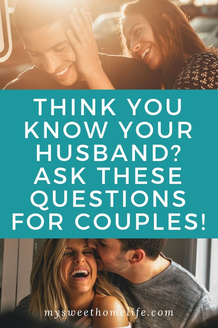Fun questions for married couples