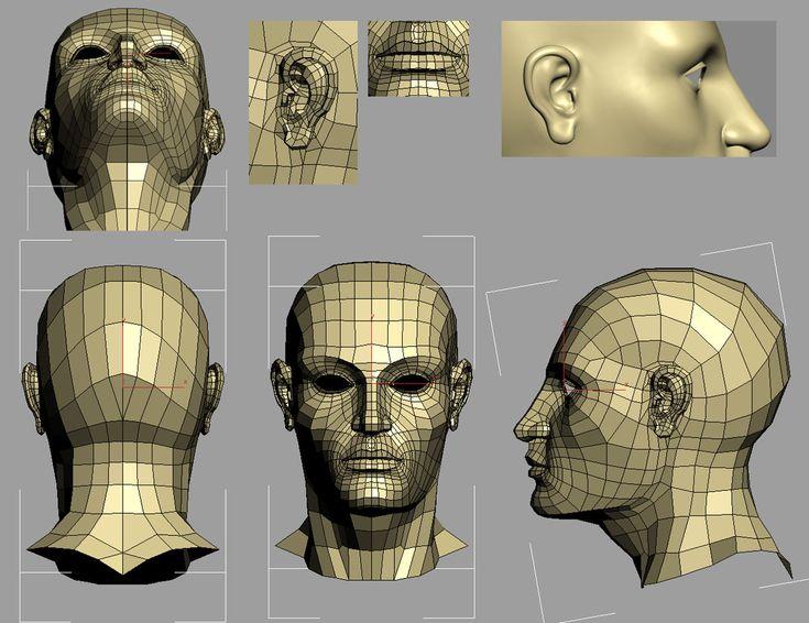 Psyche – Character modeling studies (Part 1) - Autodesk Community