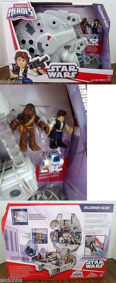 Playskool 2576: Playskool Star Wars Galactic Heroes Millenium Falcon Nip -> BUY IT NOW ONLY: $40 on eBay!