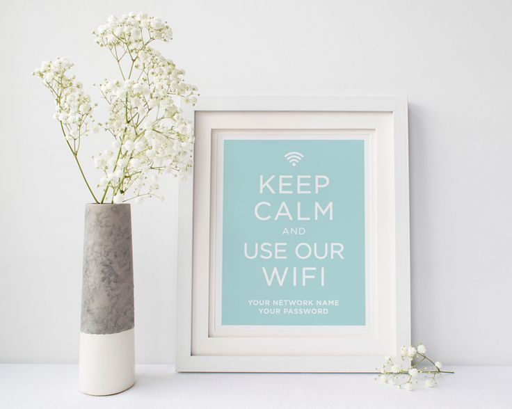 """Printable Wifi Password 