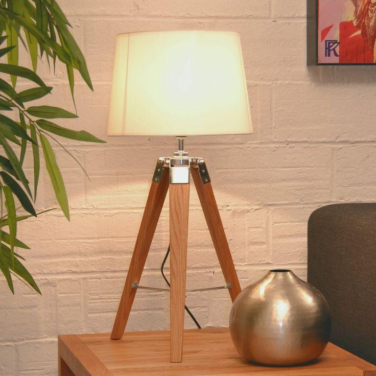 17 melhores ideias sobre candeeiros de mesa no pinterest - Lampe trepied gifi ...