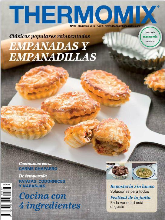 REVISTA THERMOMIX Nº97: EMPANADAS Y EMPANADILLAS