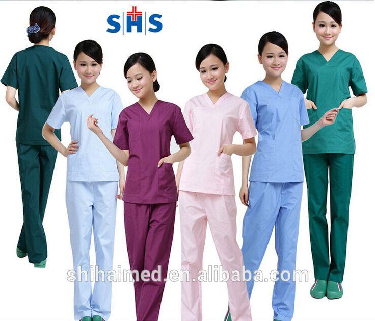 SH5000-12 Hospital surgical scrubs nurse uniform beauty salon uniform