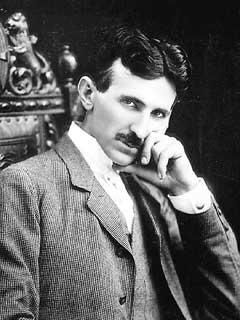 """Original caption: Nikola Tesla - Surprisingly few people these days are familiar with the life and times of one of humankind's most eccentric, badass, and volumetrically-insane scientific super-geniuses.    First off, Nikola Tesla was brilliant. And not just like Ken Jennings brilliant, either - I mean like, """"holy crap my head just exploded (from all the awesome)"""" brilliant..."""