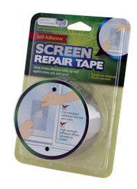 Window Screen Repair Tape- Repair Tears & Holes in Your Screen