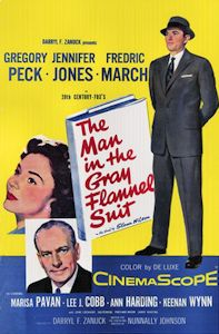 The Man in the Gray Flannel Suit, by Sloan Wilson, is a 1955 novel about the American search for purpose in a world dominated by business. Tom and Betsy Rath share a struggle to find contentment in their hectic and material culture while several other characters fight essentially the same battle, but struggle in it for different reasons. In the end, it is a story of taking responsibility for one's own life.