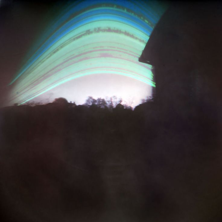 Pierre Olivier Boulant Solargraphy from Rennes. France. Six months exposure, South orientation pinhole camera.