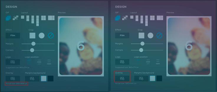 how to create an overlay
