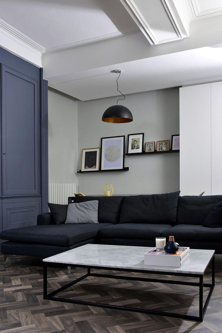 Ambiance déco 2018 MAXI minimalisme Sol PVC imitation parquet bois chevron
