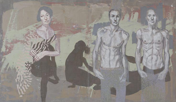 Mystique 4_oil on canvas_140cmx240cm_TarikBerber_London 2014