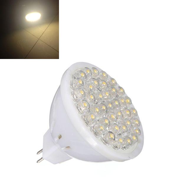 MR16 1.7W Warm White High Power 38 LED Spot Lightt Lamp Bulbs 220V