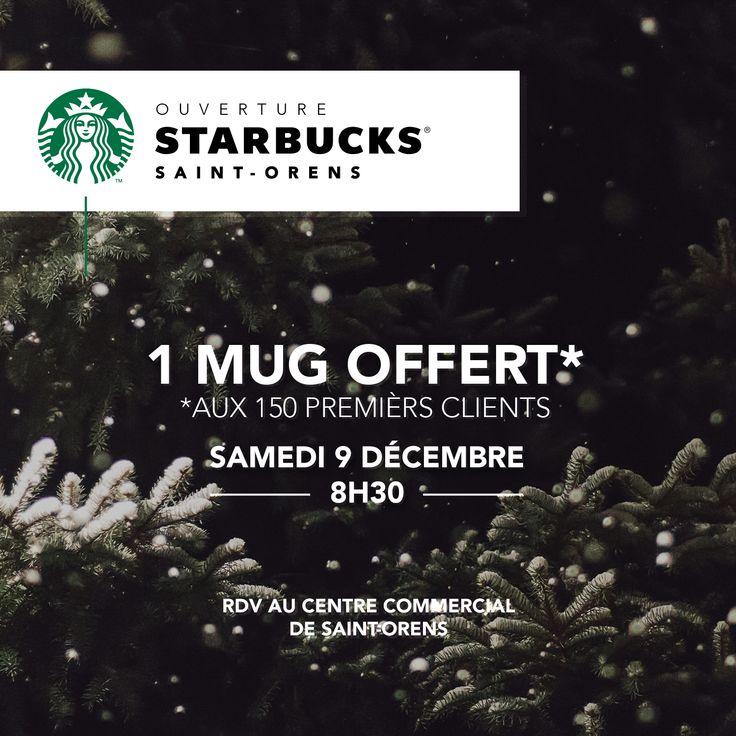 Création graphique pour l'animation des réseaux sociaux de la franchise Starbucks Toulouse