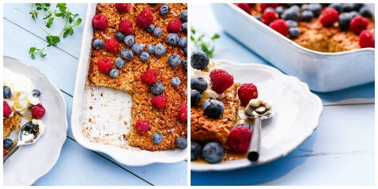 Frokostbarer uten sukker, gluten eller laktose