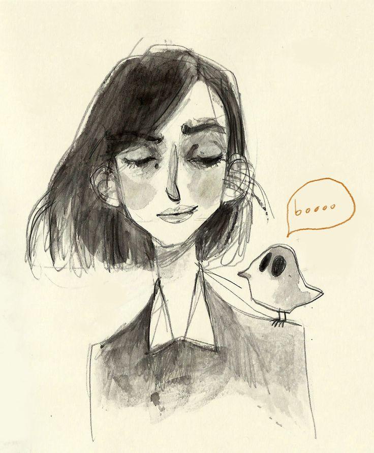 watercolor by Ilaria Urbinati